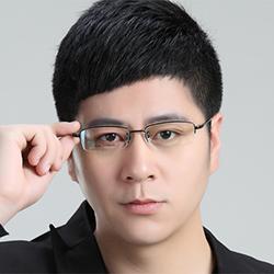 JALEN黑色不腐蚀过敏 纯钛眼镜