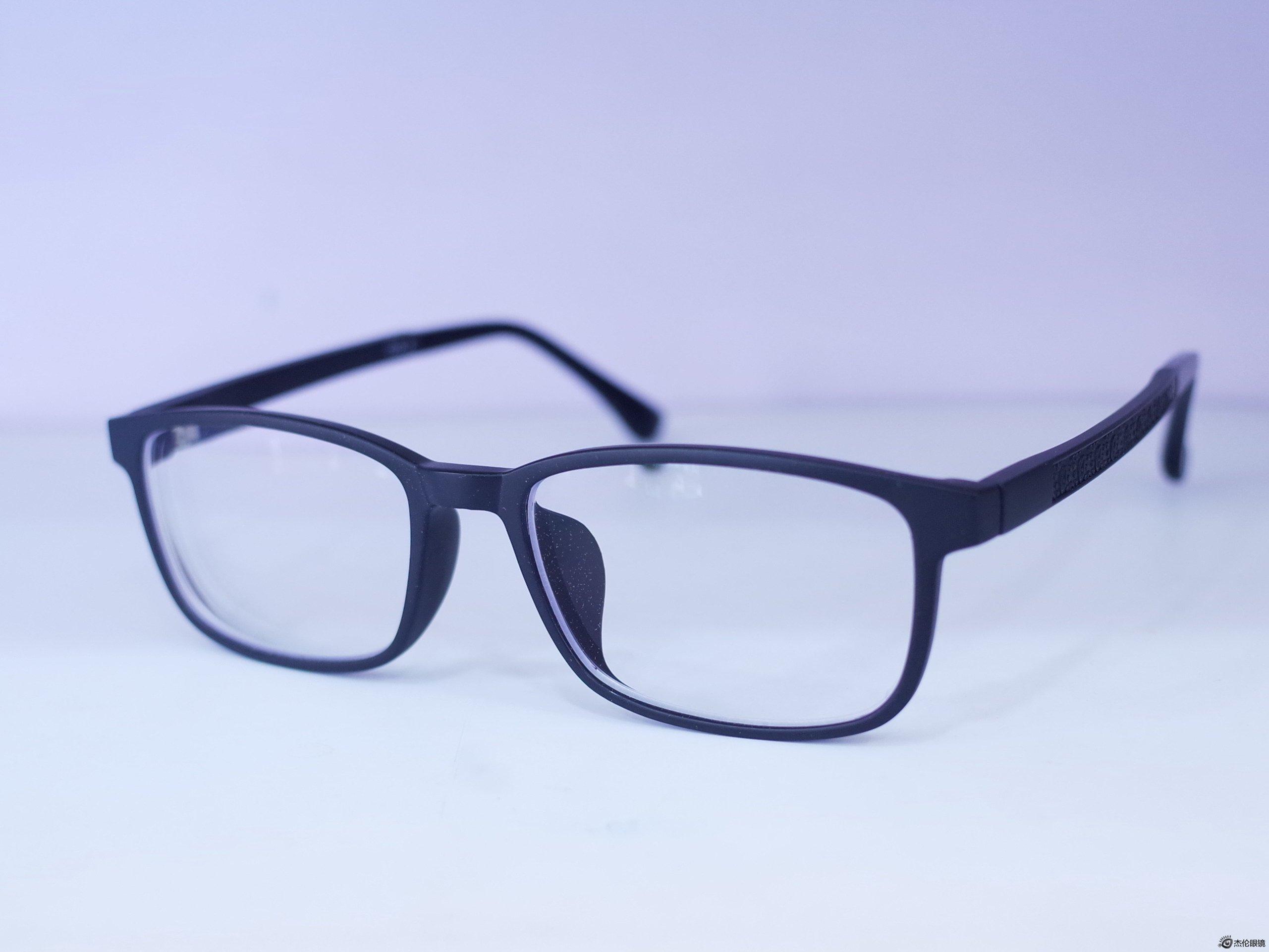 依视路标志_TR90眼镜框配依视路1.56钻晶A3 200度左右的眼镜展示-杭州南京杰伦 ...